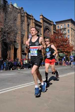 Craig at the 2018 New York City Marathon