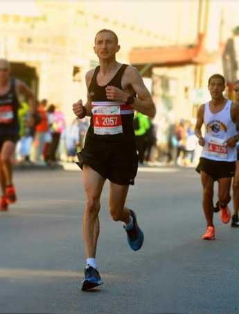 Craig at the 2017 Chicago Marathon